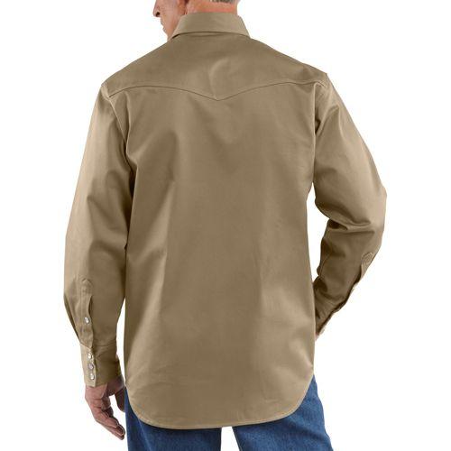 92dbb35f4a Buy Cheap Carhartt Snap-Front Twill Work Shirt
