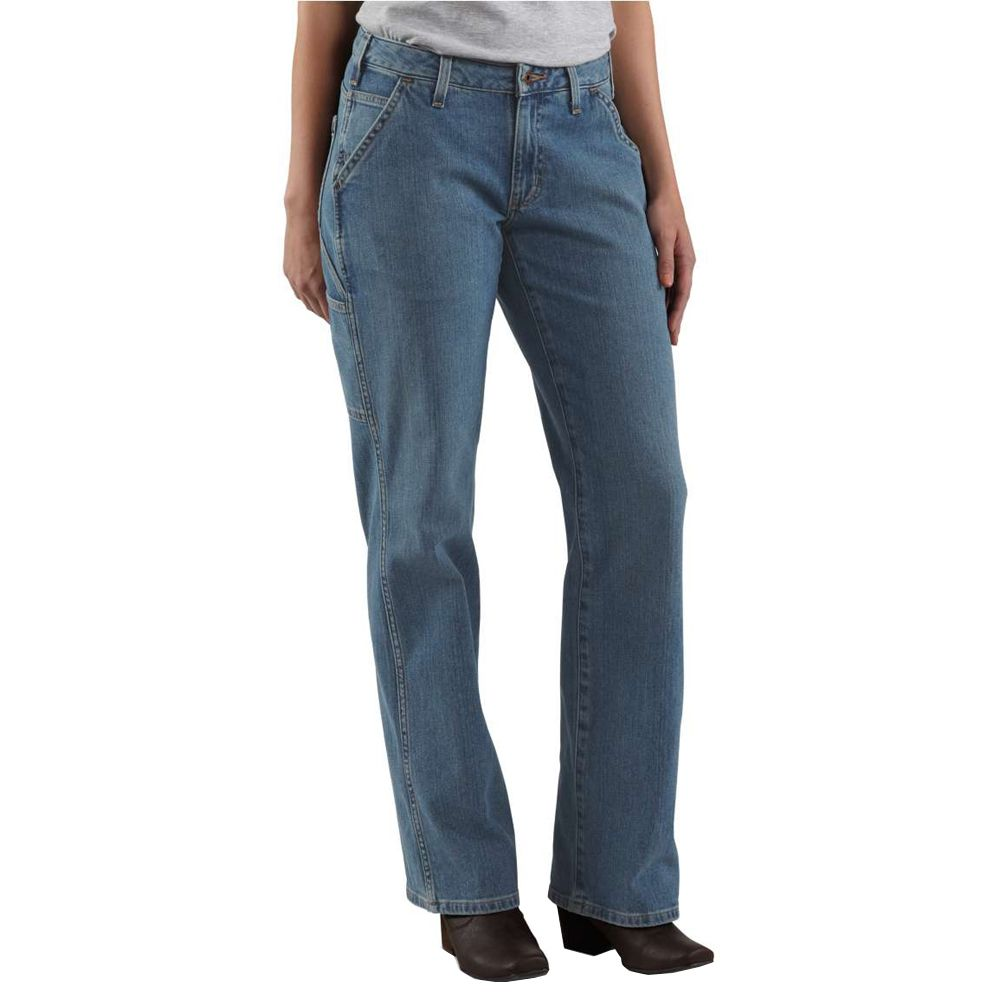 df41fccfeba8f Carhartt Womens Relaxed Fit Single Knee Carpenter Jeans