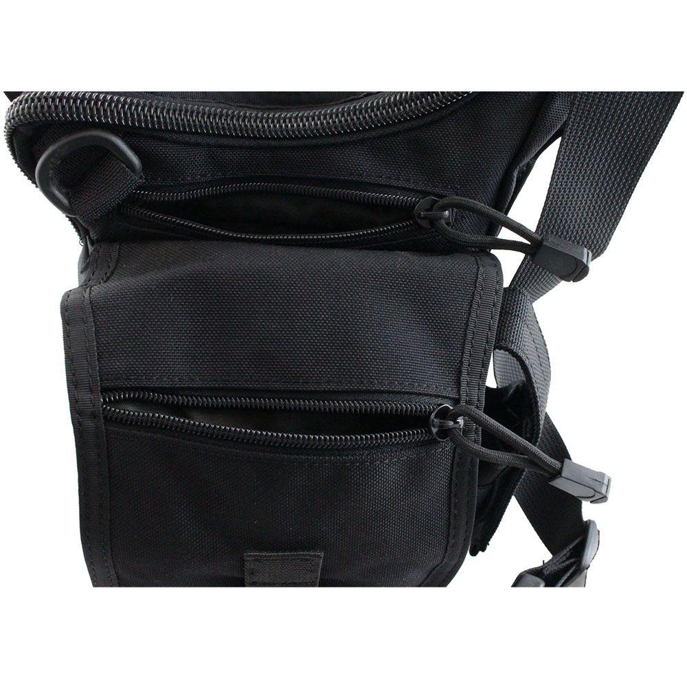 Tactical Edc Shoulder Bag Black Camouflage Ca