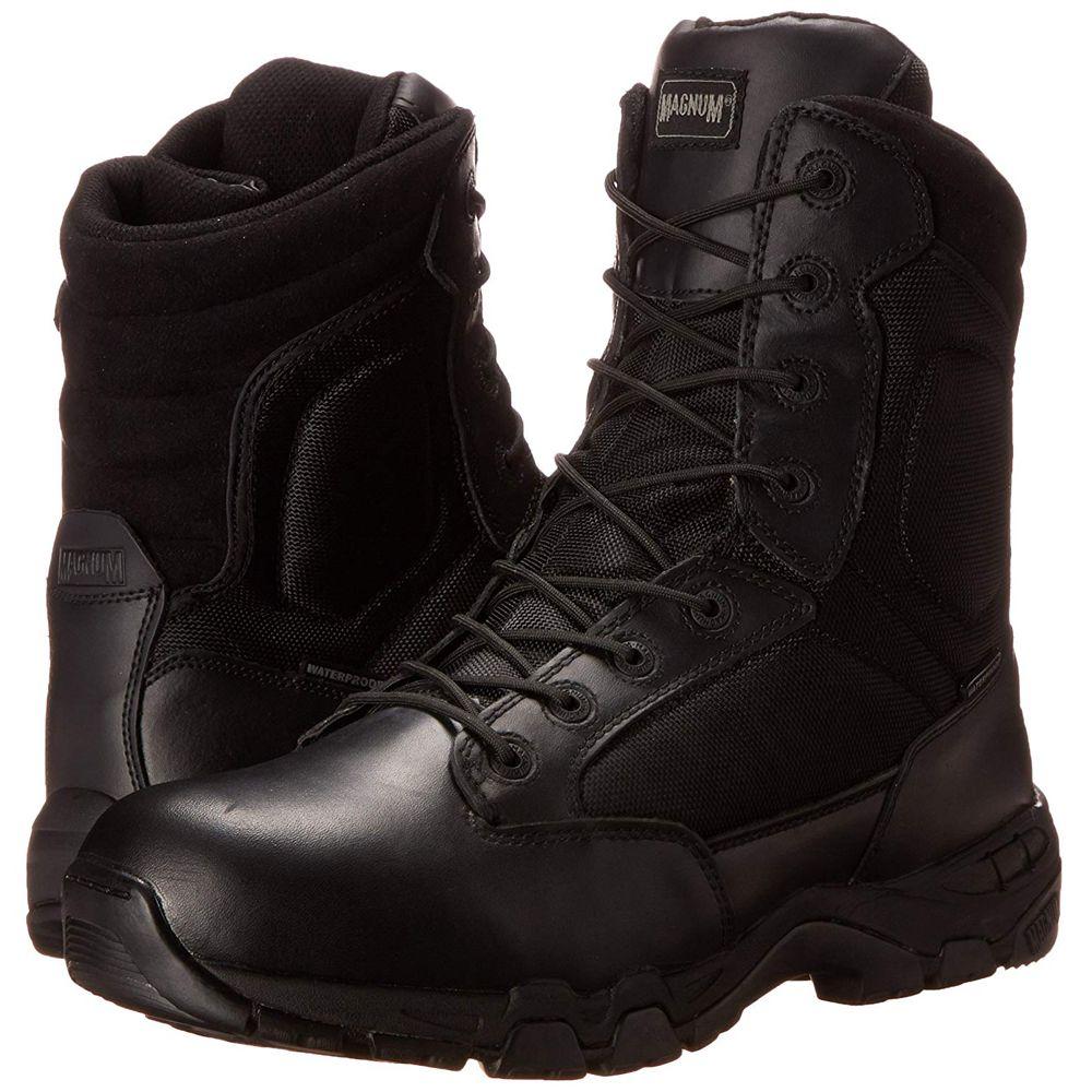 dd9da956766 Magnum Mens Black Viper Pro 8 Side Zip Waterproof Boot