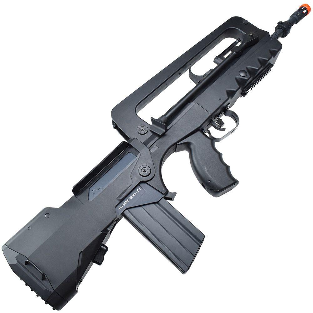 Famas Bullpup Airsoft Aeg Rifle Camouflage Ca