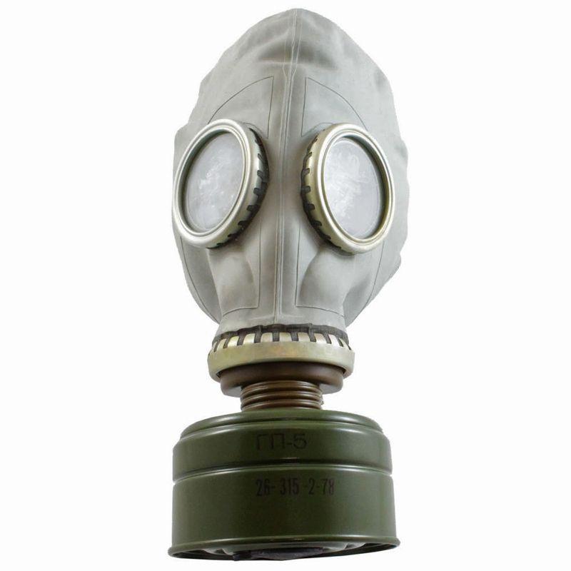 Soviet Gp 5 Gas Mask Kit Camouflage Ca