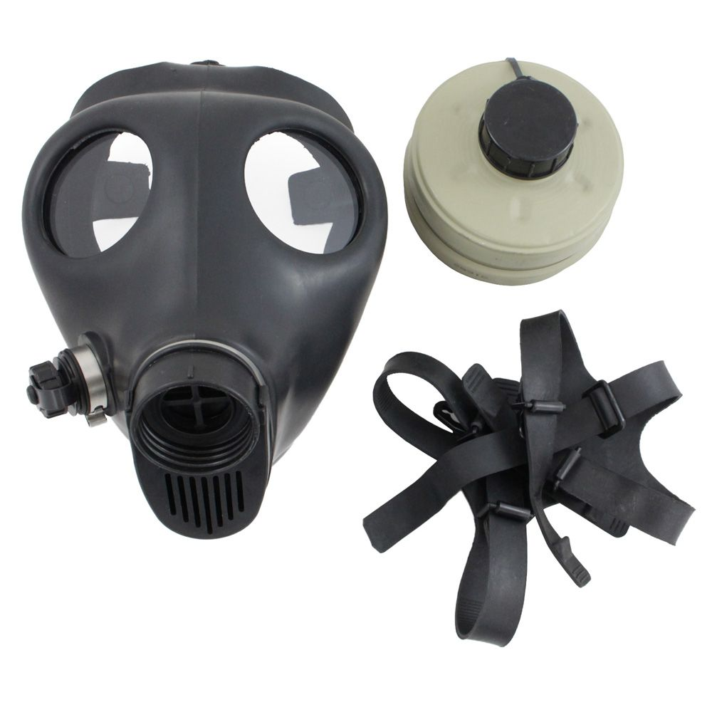 Israeli Civilian 4a1 Gas Mask And Filter Camouflage Ca