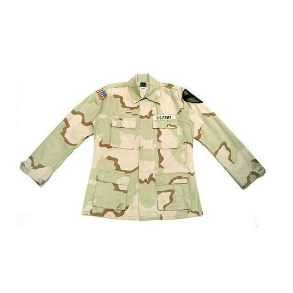U S  Military 3 Color Desert Shirt