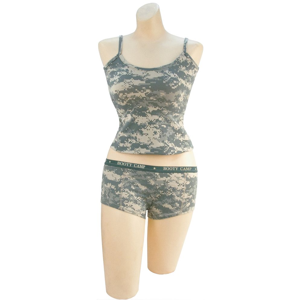 45afdeb9fa Womens ACU Digital Booty Camp Tank Top | Camouflage.ca