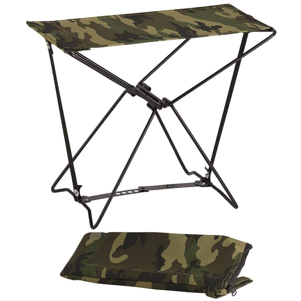 Folding Camp Stools Camouflage Ca