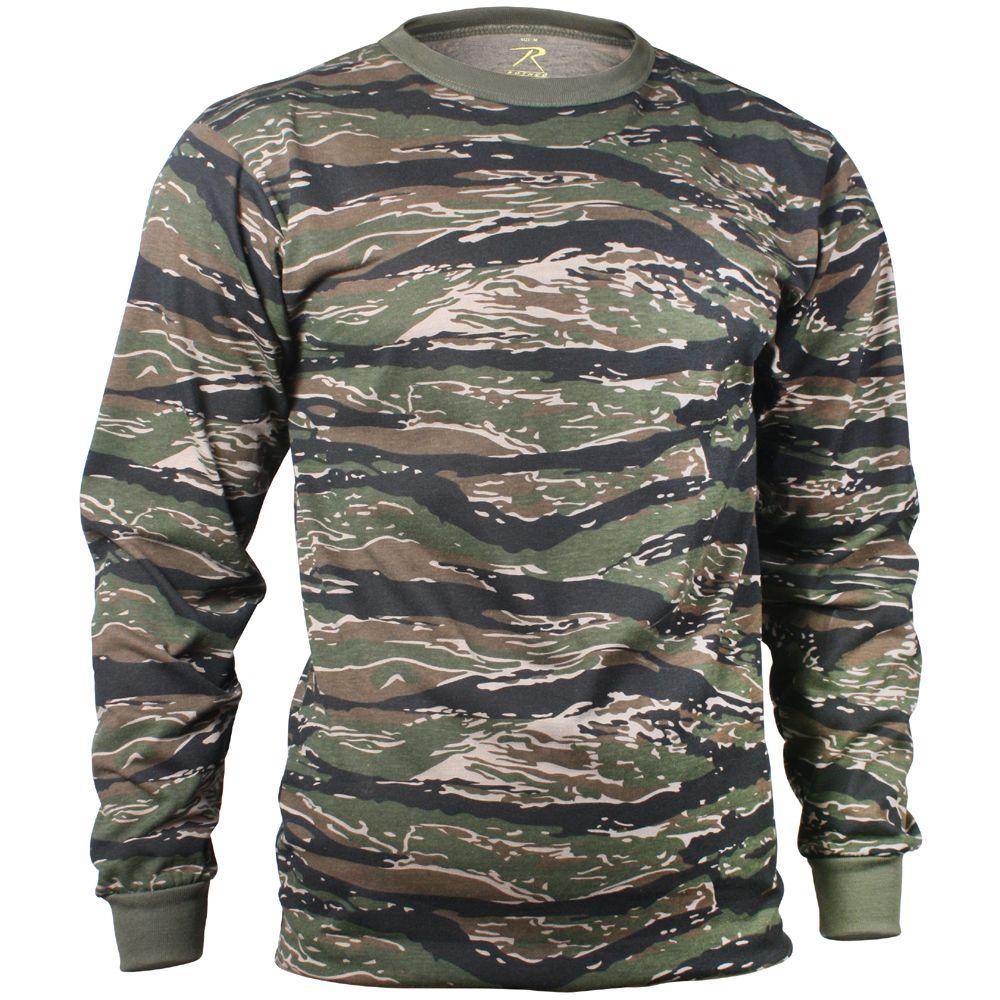 bd37824c Mens Long Sleeve Camo T-Shirt | Camouflage.ca