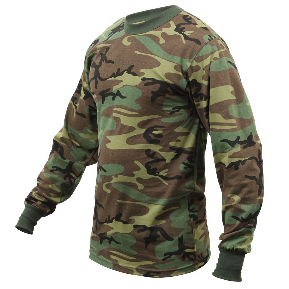 Long Sleeve T Shirts Mens Cotton