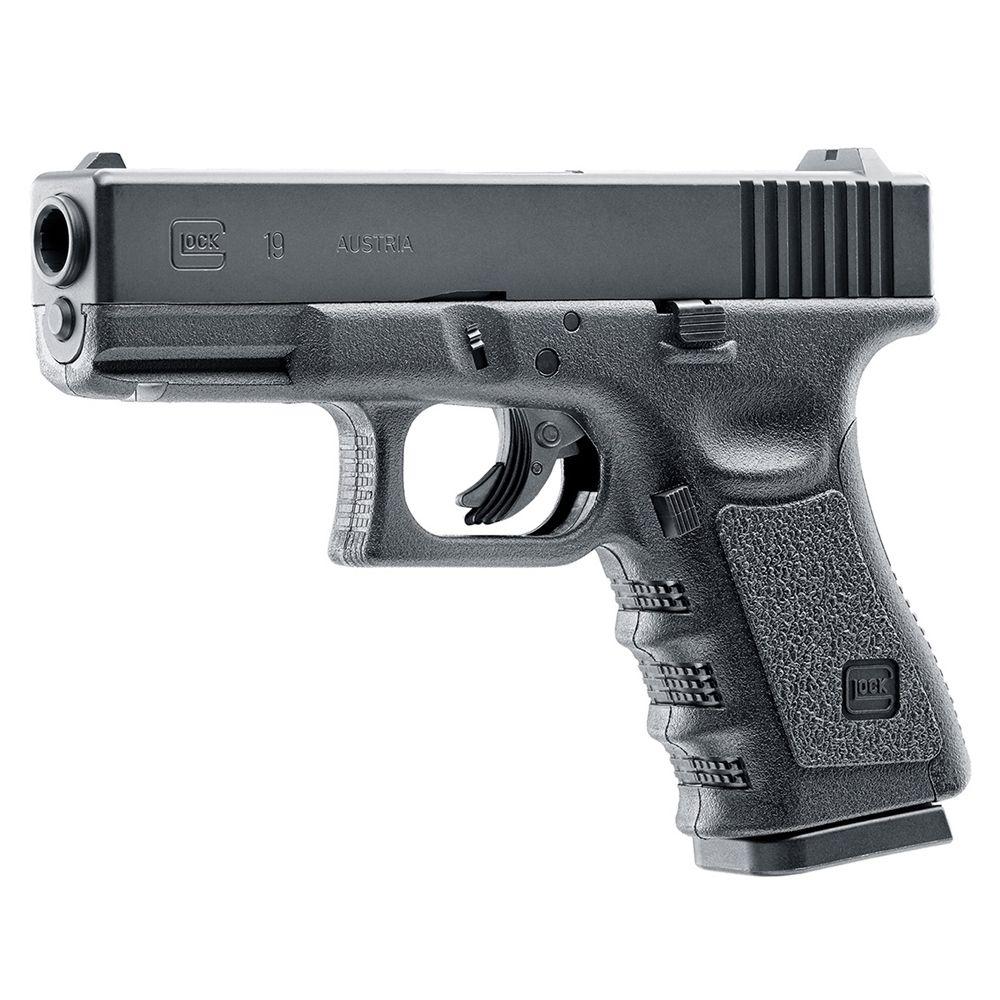 GLOCK 19 CO2 Steel BB Pistol