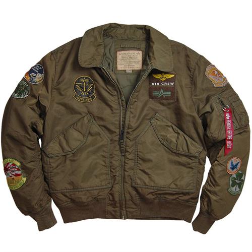 Alpha CWU Pilot Jacket