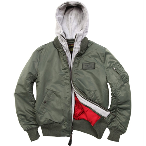 Alpha MA-1 D-Tec X Jacket