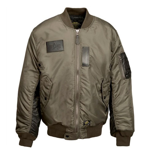 Alpha MA-1 Turbine Flight Jacket