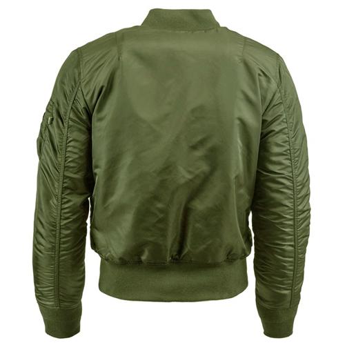 Slim Fit MA-1 Flight Jacket