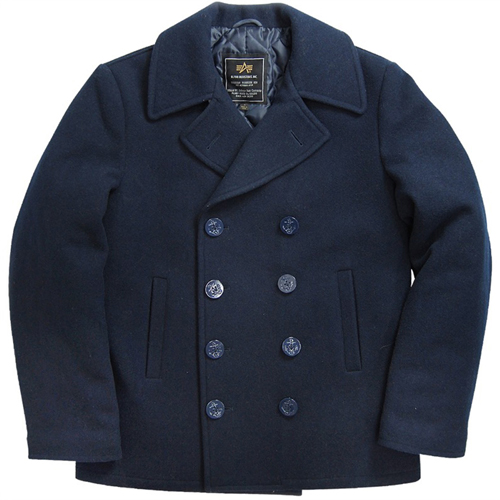 Men's USN Pea Coat