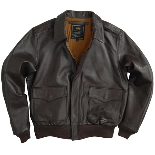 Alpha  Horsehide A2 Leather Jacket