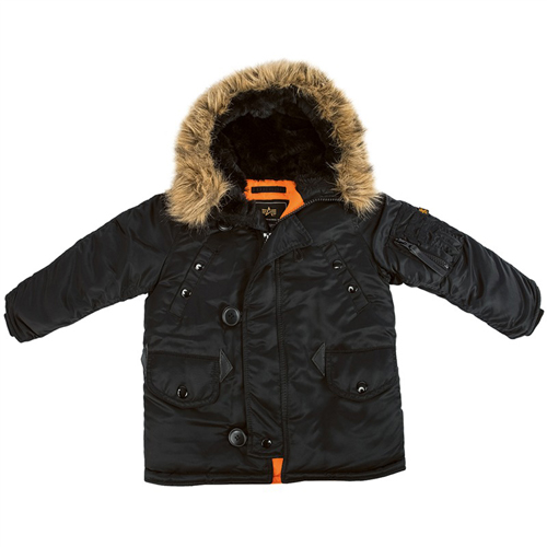 Alpha Youth N-3B Parka Jacket