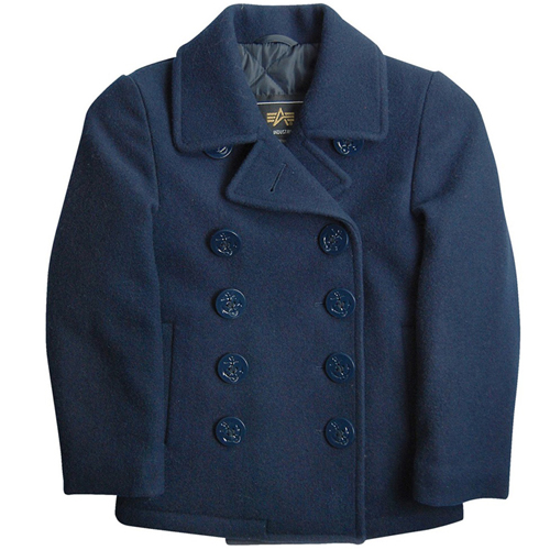Alpha Kids Pea Coat