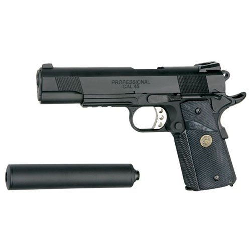 US Marine MEU Limited Black Airsoft Pistol