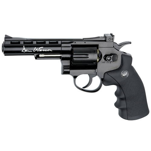 Dan Wesson 4-Inch Black 4.5mm BB Revolver