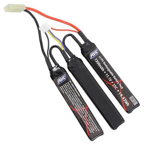1300mAh 11.1V LiPO Airsoft Battery