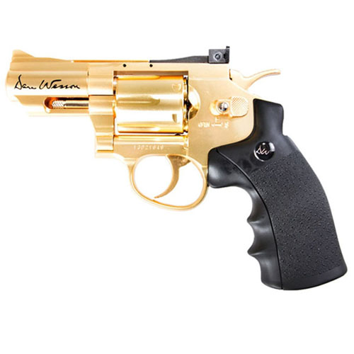 2.5 Inch Gold 4.5mm CO2 Air Pistol