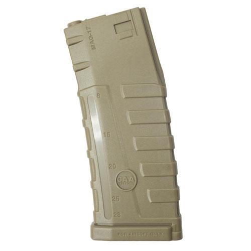 ASG CAA M4 Mid-Cap Rifle Mag - Tan