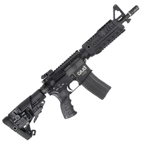CAA M4 CQB Black GBB Airsoft Rifle