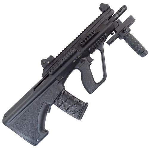 Steyr AUG A3 XS Commando Black AEG Airsoft Rifle