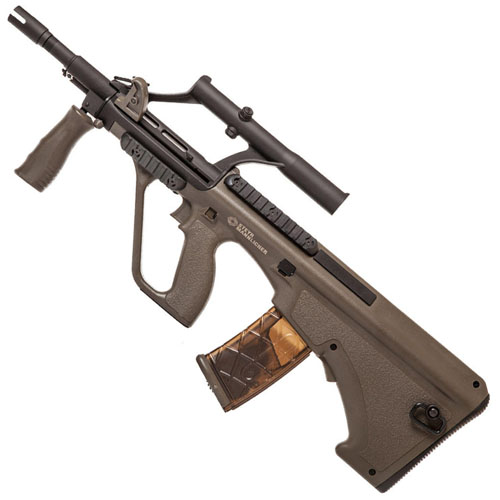 Steyr AUG A1 Compact Airsoft Rifle - Olive Drab