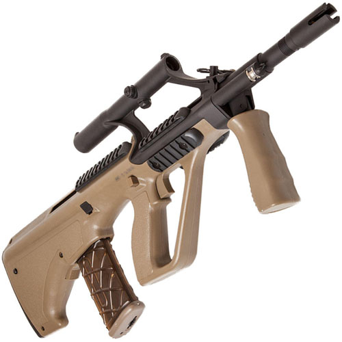 Steyr AUG A1 Compact Electric Airsoft Rifle - Tan