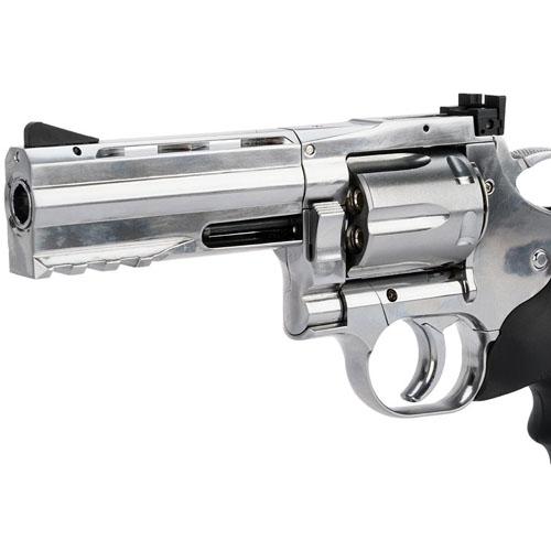 4 Inch Silver Pellet Gun