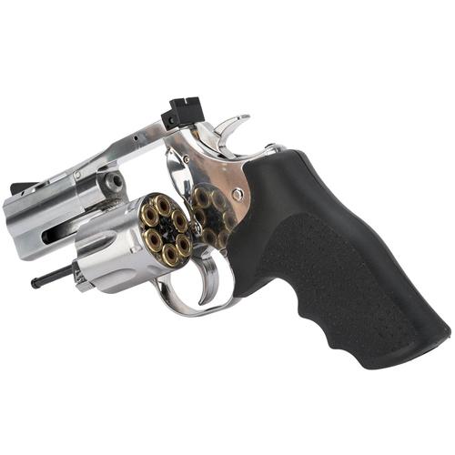 2.5 Inch Silver Pellet Gun