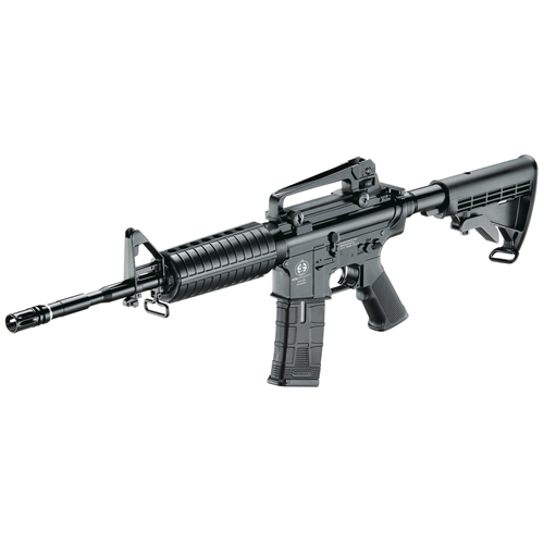 AEG PL CS4A1 Black Airsoft Rifle - 453 FPS