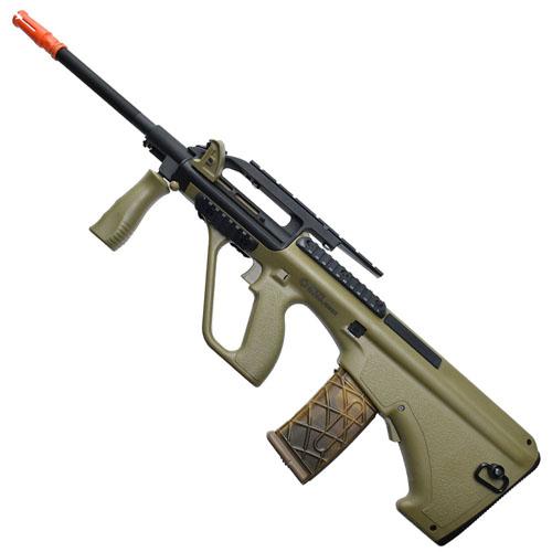 AEG PL Steyr AUG A2 US Version Airsoft Rifle - Tan