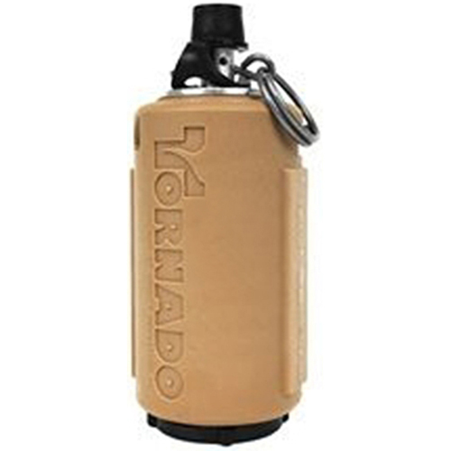 Tornado Re-Useable Flat Dark Earth Timer Grenade