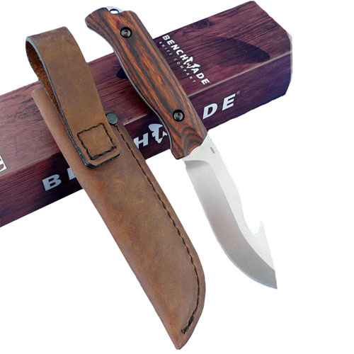 Benchmade Hunt Saddle Mountain Skinner Gut Hook Fixed Blade Knife