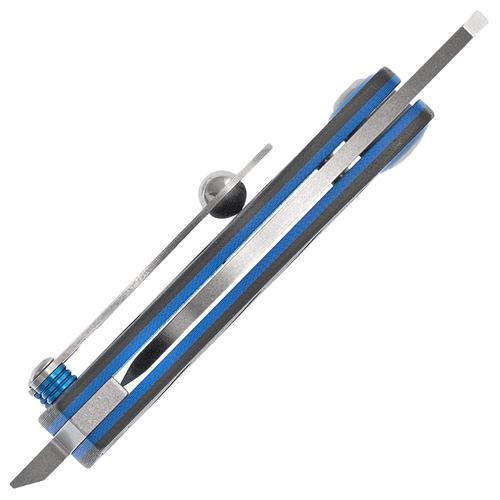 Aller 380 Black G-10 Handle Folding Blade Knife
