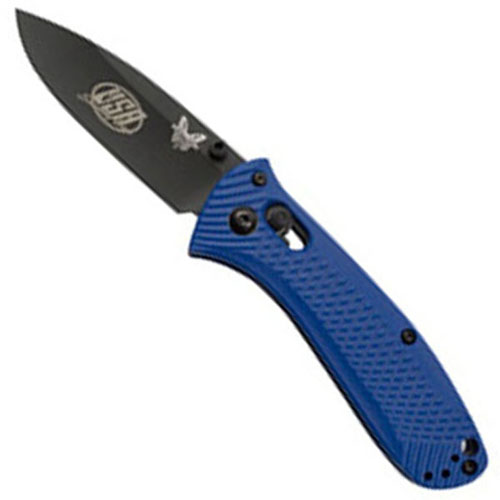 Benchmade USA Shooting Team Plain Edge BK1 Coated Blade Folding Knife