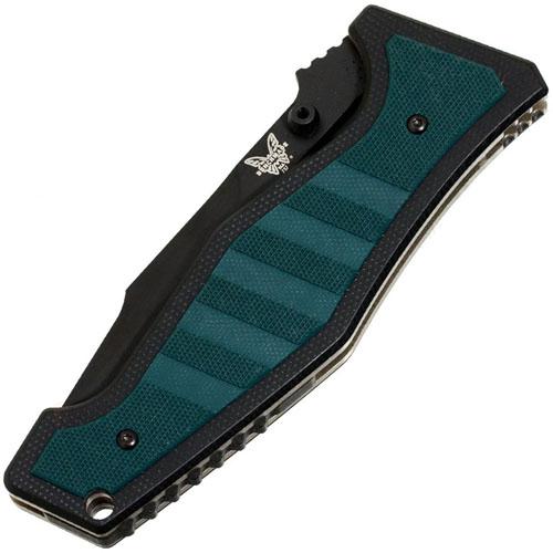 Shane Sibert Vicar 3.9 Inch Black Combo Folding Knife
