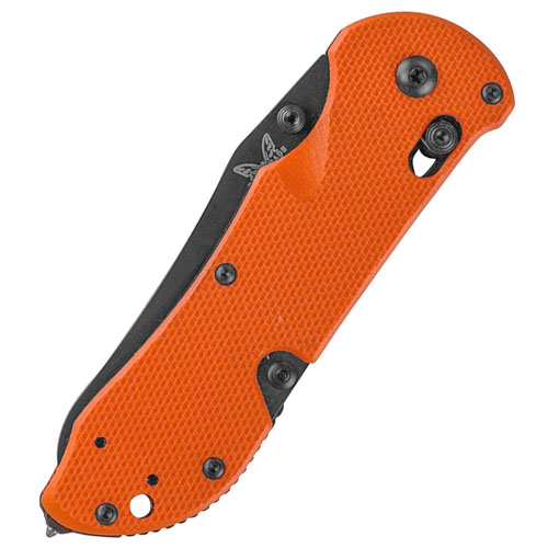 Benchmade Black Combo Blade Triage Rescue Knife