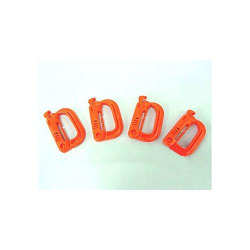Orange Military Plastic Carbiner