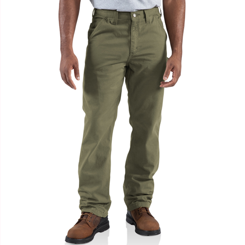 Carhartt Washed Twill Dungaree/Flannel Lined Pant