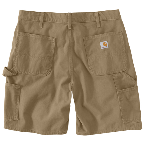 Washed Twill Dungaree Shorts