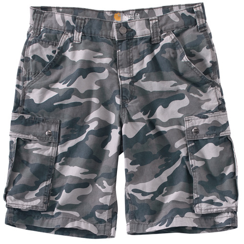 Rugged Cargo Camo Short