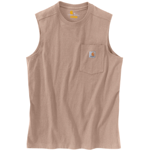 Workwear Pocket Sleeveless T-Shirt