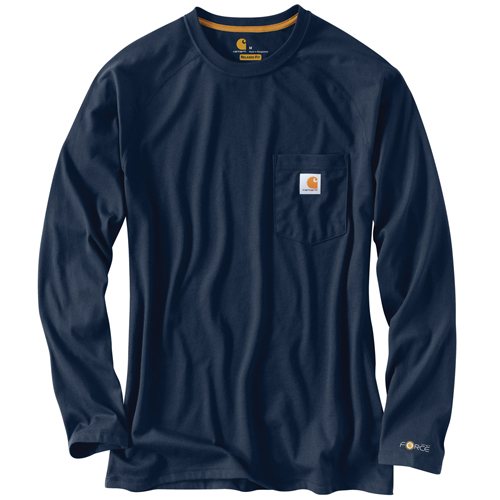 Carhartt Force Cotton Delmont Long-Sleeve T-Shirt