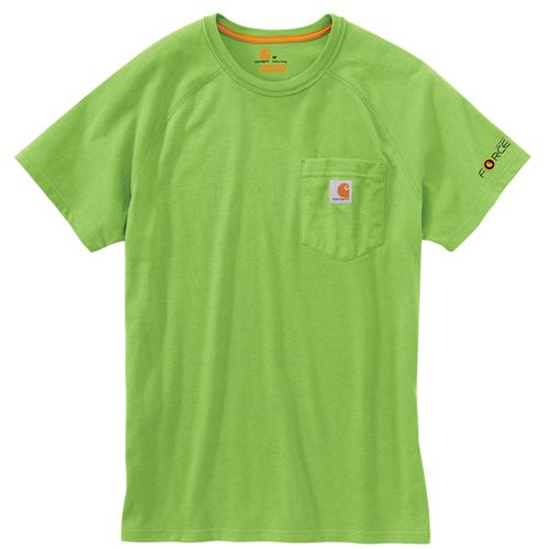 Carhartt Force Cotton Delmont Short-Sleeve T-Shirt