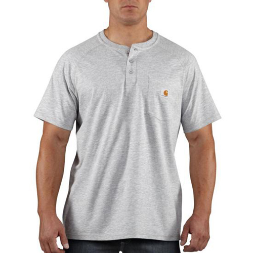 Force Cotton Delmont Short-Sleeve Henley