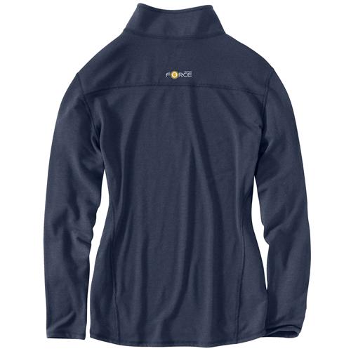 Carhartt Force Performance Quarter-Zip Womens Shirt