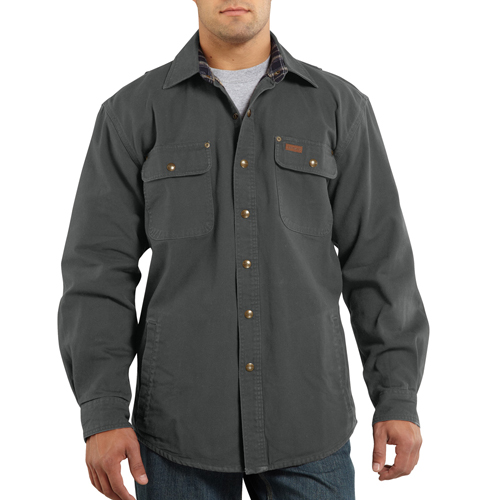 Carhartt Weathered Canvas Jacket Shirt